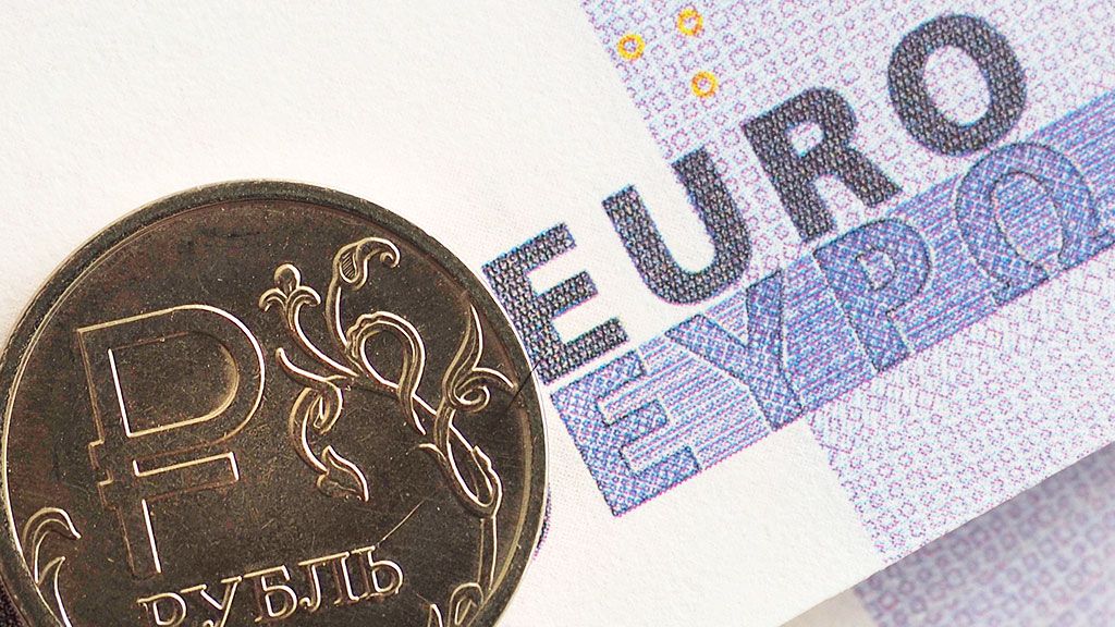 График тенге евро