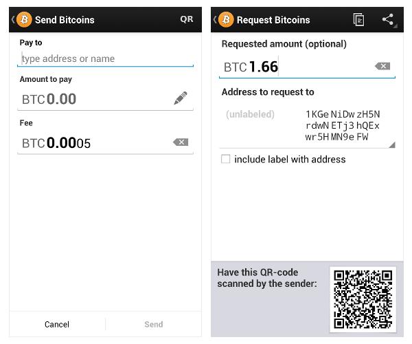 Bitcoin приложение